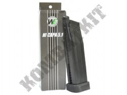 WE Airsoft 5032 Gun Magazine Clip 5.1 High Capa Gas GBB Handgun Black Metal